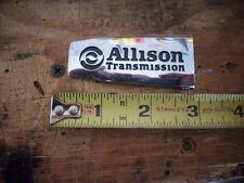 GM Allison Duramax Hood Emblem Sierra Silverado Tab Only 23453068 GMC Chevy