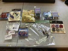 Mixed Lot of Craft Brads - Various Patterns 12 packs