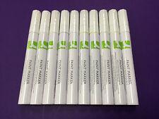 10 x White Paint Marker-scrive su qualsiasi superficie, metallo, pneumatici, legno, ecc.!