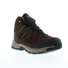 Hi-Tec Red Rock Mid Waterproof 9514 Mens Brown Suede Lace Up Hiking Boots