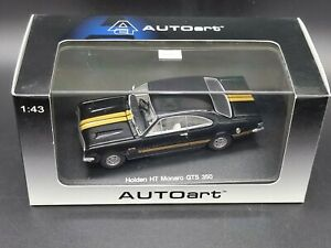 Autoart Biante Holden HT GTS 327 Monaro Warrigal Black 1:43 Scale Diecast Model