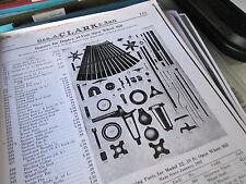 Duplex Vaneless Windmill Parts List & Diagrams