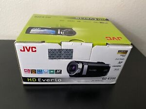 NEW JVC GZ-E200 FULL HD EVERIO Camcorder-BLACK*
