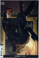 "Catwoman #9 Stanley ""Artgerm"" Lau Signed Variant Cover DC Comics"