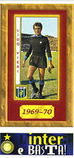 FIGURINA PANINI ALBUM TUTTO INTER - N° 154 - LIDO VIERI - 1969-70