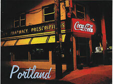"*Postcard-""The Rose Pharmacy"" on Sandy Blvd. on Portland- (B324)"