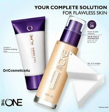 Oriflame The One Aquaboost Foundation Natural Beige, Face Primer & Wedges