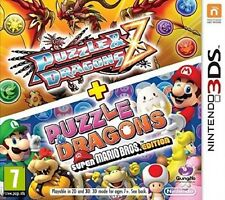 NINTENDO 3DS PUZZLE & DRAGONS Z + SUPER MARIO EDITION NUOVO ITALIANO