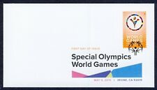 #4986 Special Olympics World Games, DCP FDC ANY 4=