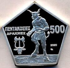 Crete 500 drachmai 2020 Minotaur Minotaurus Greek Mythology Proof