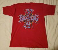 Vintage Billabong 90's T Shirt L Made In USA