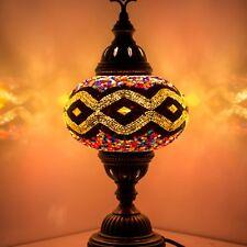 Mosaik Tischlampe Türkische Mosaiklampe Handgearbeitet Orientalische Lampe