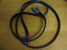 New listing 5Ft 3Rca Rgb Male Cable Colored Component Video Audio Vcr Dvd Av