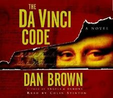 The Da Vinci Code by Dan Brown (2003, CD, Abridged) Audio Book