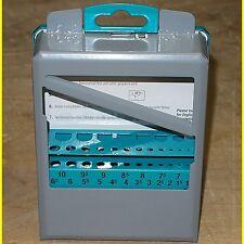 Bohrer Leer - Kassette 1-10 mm in 0,5mm Schritten Neu !