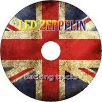 LED ZEPPELIN GUITAR BACKING TRACKS CD BEST GREATEST HITS MUSIC PLAY ALONG JAM