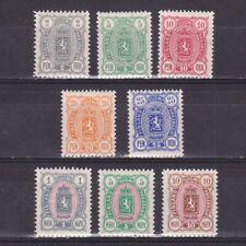 Finland 1889, Sc #38-45, CV $364, MH
