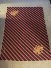 "*VINTAGE* GUCCI 100% Cotton Striped Floral Scarf / Wrap - 59"" x 43"""
