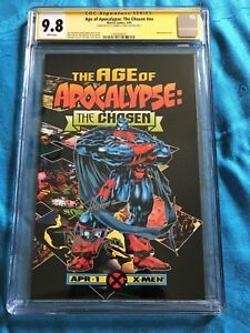 Age of Apocalypse: The Chosen #1 - Marvel - CGC SS 9.8  - Signed by Lyle, Hanna