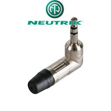 Fiche Jack 3,5 Mâle STEREO Coudé NEUTRIK NTP3RC Connections à Souder