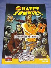 Jesus Hates Zombies Vol.1 Stephen Lindsay Steve Cobb Alterna Comics Lincoln Book