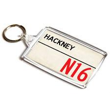 KEYRING - Hackney N16 - UK Postcode Place Gift