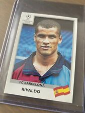 Panini Rivaldo Champions league 1999/2000 FC Barcelona Football Sticker #51