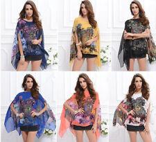 Chiffon Regular Machine Washable Floral Shorts for Women