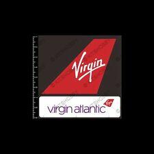 Virgin Atlantic Logo Sticker (Size 9 cm x 9 cm)
