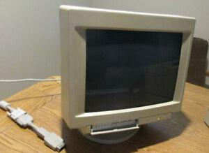 "Vintage Apple Display Monitor Multiple Scan 15"" CRT M2943"