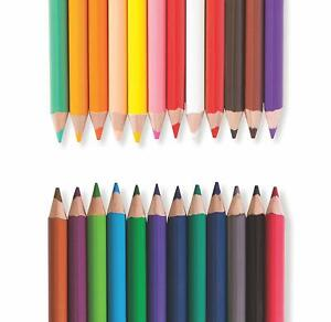 Papermate Colored Pencils Set Of 12 Colors Bright Bold  Pre Sharpened  New