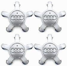 4 New OEM Wheel Center Cap Emblem 8R0601165 FOR Audi Q3 Q5 A3 A4 A5 A6 S3 S4 S6