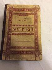 Vintage-Novello's Original Octavo Edition. Handel. Israel in Egypt.