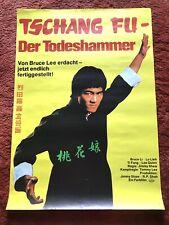 Tschang Fu Der Todeshammer Kinoplakat Poster A1, Eastern, Bruce Li, Shaw Brother