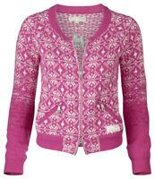 ODD MOLLY #613-857 Full Zip Sweater Cardigan size 1/S