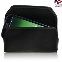Samsung Galaxy S3 Holster Black Belt Clip Case Pouch Leather Turtleback