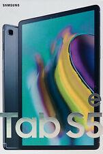 Samsung Galaxy Tab S5e 64GB, Wi-Fi, 10.5in - Black SM-T720NZKAXAR NEW SEALED