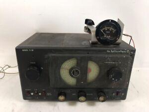 Hallicrafters S-38B Vintage Tube Ham AM CW Radio Receiver