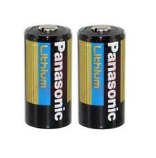 Panasonic CR-123 3V Photo Lithium Batteries CR123- 2 pk