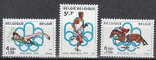 Belgique / Belgien Nr. 1852-1854** Olympia 1976 Montreal