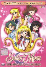 DVD Sailor Moon 3 Movie UNCUT Special Collection ( English Dub) Sailormoon Anime