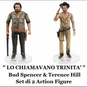 "-=]OAKIE DOAKIE - Terence Hill & Bud Spencer A.Figure 18cm. Set da ""Trinità""[=-"