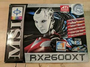 MSI ATi RADEON HD2600XT / RX2600 XT Graphics Card 512 MB Silent Version!