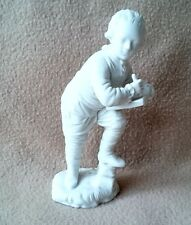 ANTIQUE CONTINENTAL GERMAN HOCHST BLANC DE CHINE PORCELAIN FIGURINE LATE 18 CEN