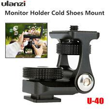 Ulanzi U-40 1/4 Hot Shoe Mount Adjustable Damping Stand Holder fr DSLR SN