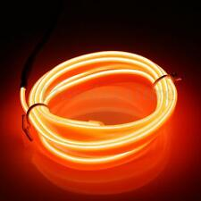 Car Interior Glow EL Wire Neon LED String Strip Lights Rope Tube Lamp 5.5mm