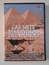 DVD LAS SIETE MARAVILLAS DEL MUNDO (4L)