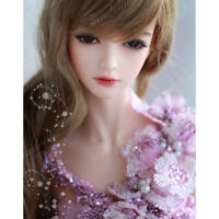1/3 BJD SD Dolls Pretty Girl Female Resin Nude Ball Jointed Doll +Eyes + Face up