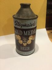 Vintage Stegmaier's Gold Medal Beer 12oz Cone Top Can Wilkes-Barre, Pa