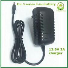 12.6V2A/12.6V 2A intelligence lithium li-ion battery charger for 3Series 12V